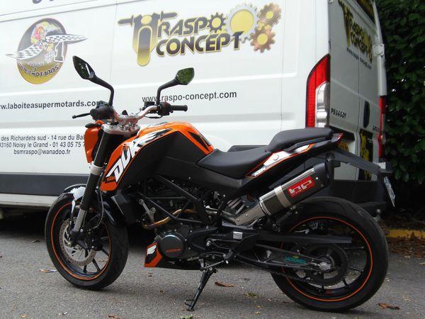 KTM 125 By Raspo