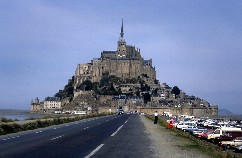 mont-saint-michel parking