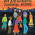 Otsaliheliga - we are grateful (traci sorell)