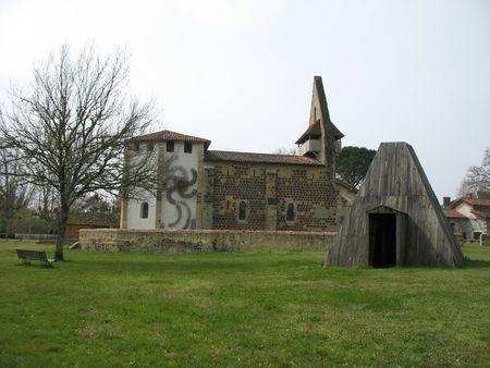 e) Garein, église et jardin (40)