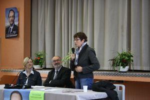 Gérard Dieudionné socialiste DVG Delphine Mesnildrey Geneviève Couraud Granville législatives meeting 2012 mai