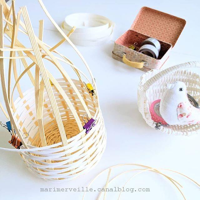 vannerie de papier bande ueda - ©marimerveille