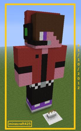 Statue Minecraft425