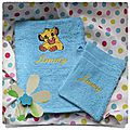 Serviette de toilette LION - copie