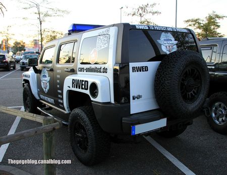 Hummer H3 (Rencard Burger King septembre 2012) 02