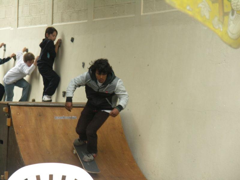 skater en action, juin 2009