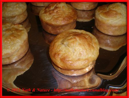 Muffins fondants à la pomme - 2