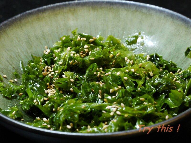 salade algues