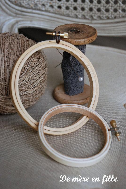 mini tambours 7,5 cm