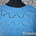 Tricot: mon frambuesa sweater by drops design