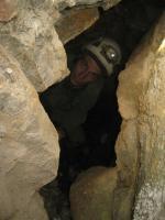 dans la grotte!!
