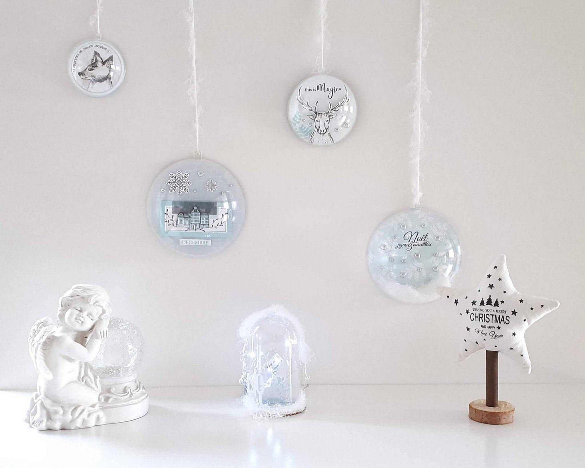Boule De Noel Transparente A Decorer nouveautes produits : des décorations de noël par flo