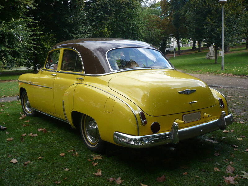 CHEVROLET Deluxe 4door Sedan 1949 Liège (2)