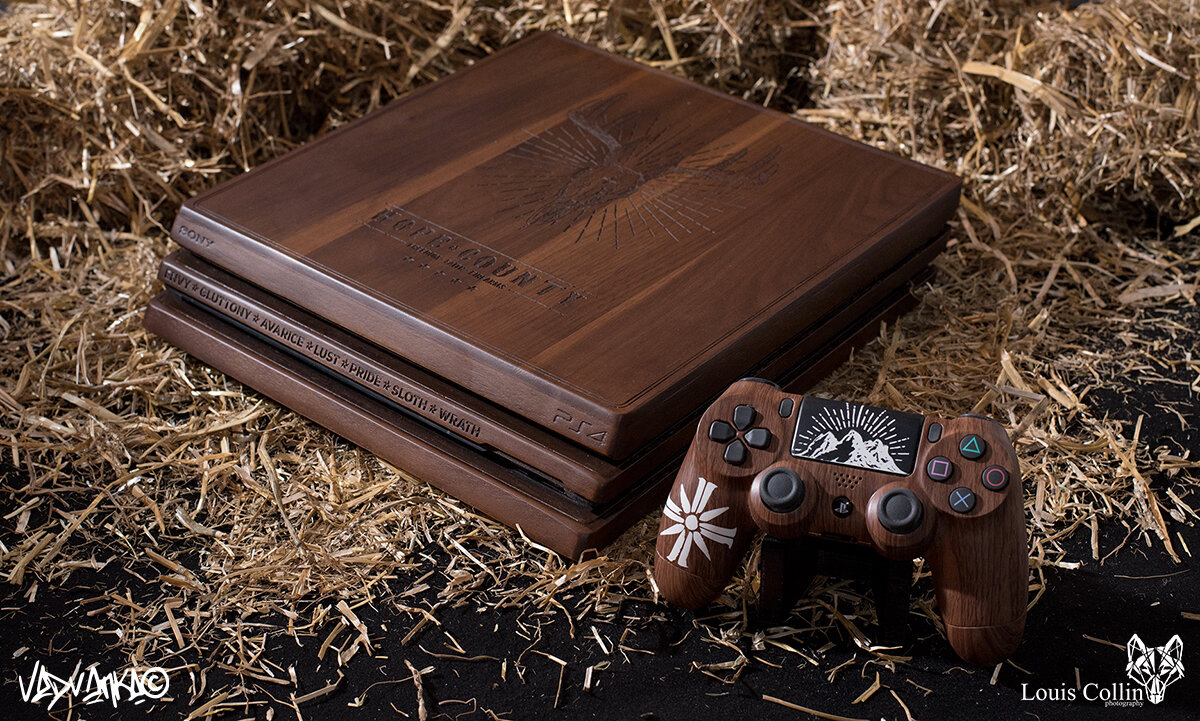Hope County - Playstation 4 [GEEK-ART x UBISOFT x FAR CRY 5]