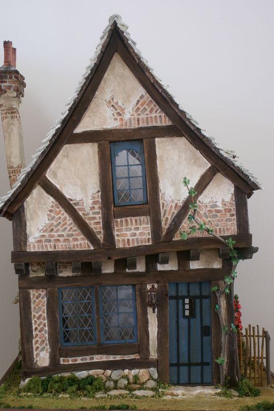 Façade de la Crooked house