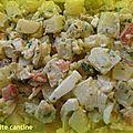Salade de pommes de terre aux saveurs antillaises