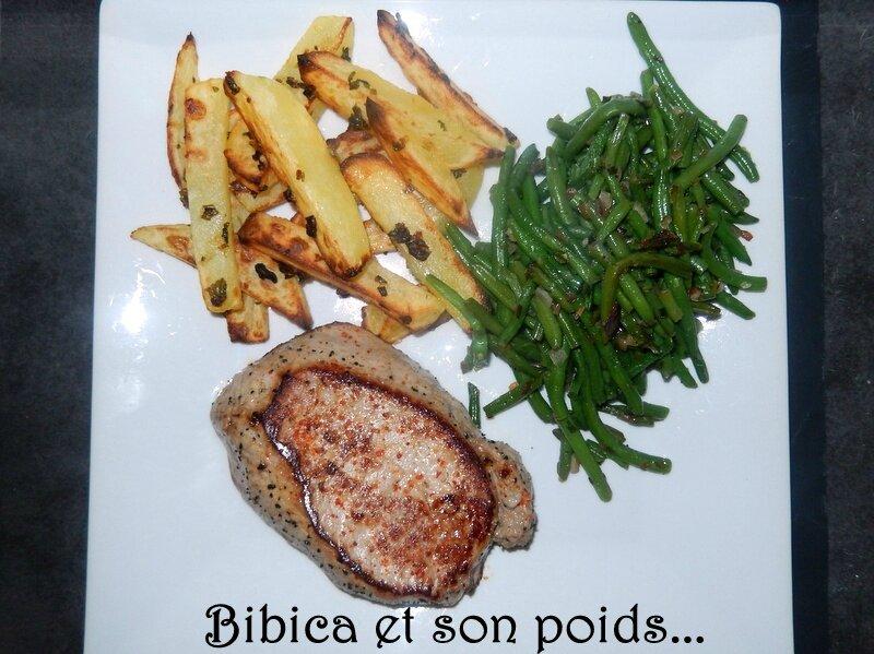 Pommes de terre persillées au four