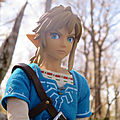 Link real action heroes (breath of the wild)