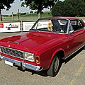 Ford 20m p7a coupe 1967-1968