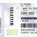 Jeanne added - mardi 30 octobre 2018 - le trianon (paris)
