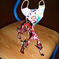 Atelier Déchets d'Oeuvre Mérindol 2007 - Petit chat en plastique - Recyclage récupération création