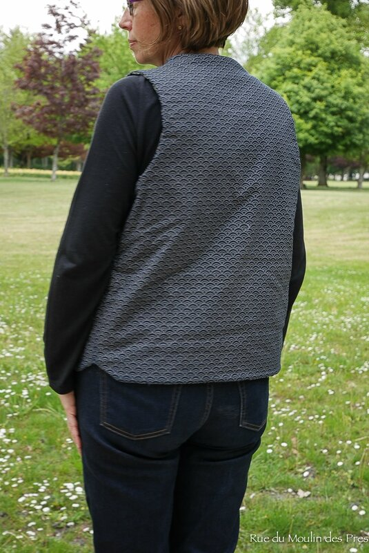 Quilted Vest Purl Soho 02