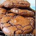 Les outrageous chocolate cookies de martha
