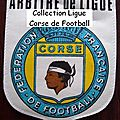 04 - ligue corse de football - album n°232 - fanions
