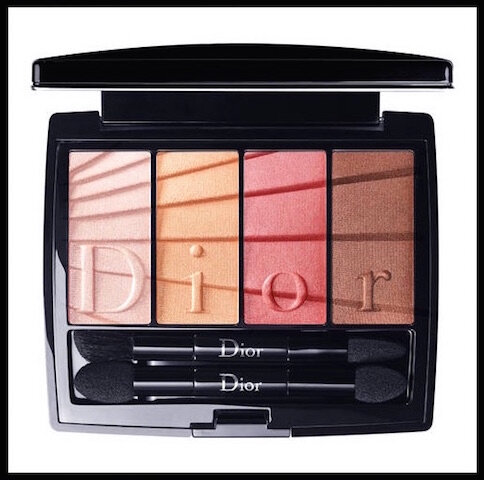 dior colour gradation palette regard coral
