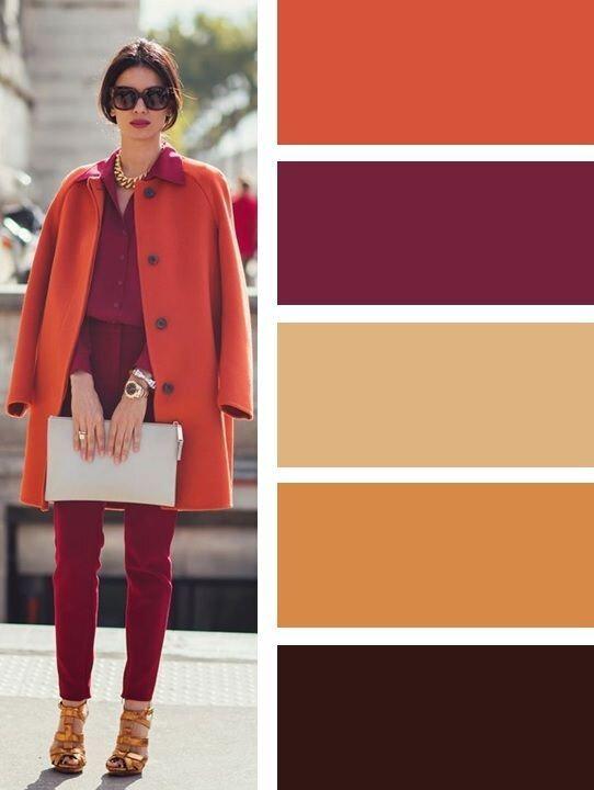 palette automne