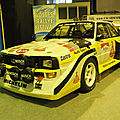 Audi sport quattro s1 group b rally 1985