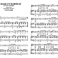 Si j'avais un marteau (partition - sheet-music)