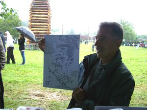 Caricature en direct BOURSIER 4