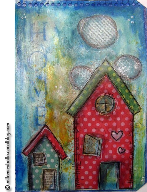 artjournal mixed medias home