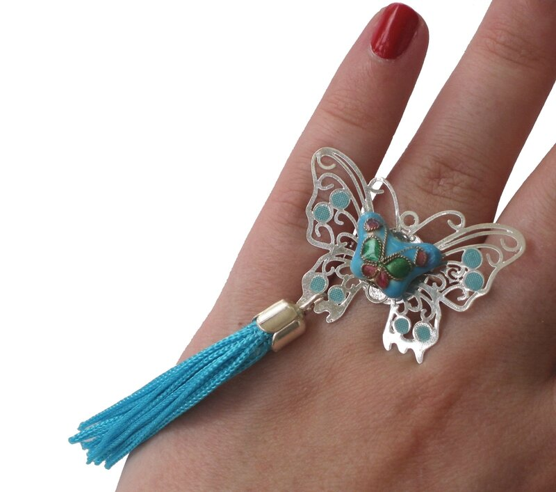 Bague MACHAON turquoise