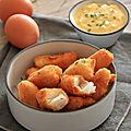 Nuggets de cabillaud et sauce tartare maison