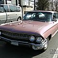 Cadillac de ville 6window hardtop sedan-1961