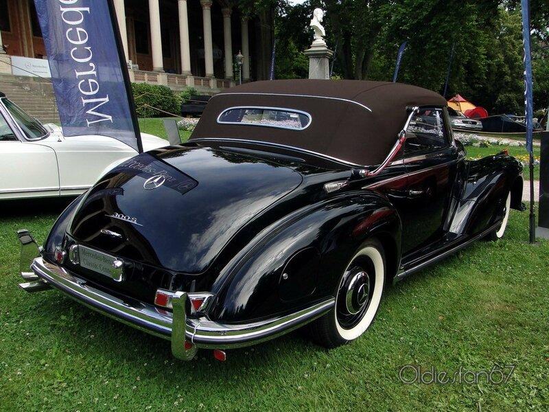 mercedes benz 300 S cabriolet A 1953 b