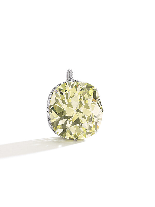 Fancy Yellow Diamond, 51