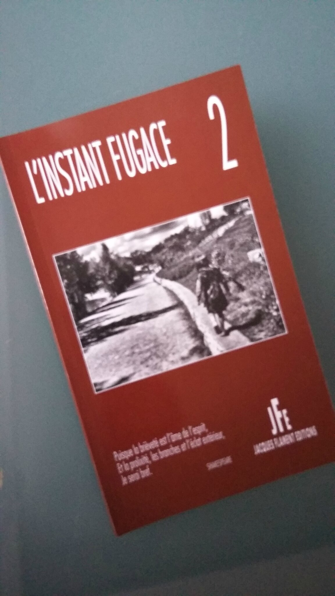 Dans L'Instant Fugace 2 (Editions Jacques Flament), deux textes de C.-L. Desguin