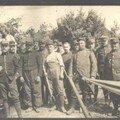 Les marocains à Petit-Sains, juin 1915.