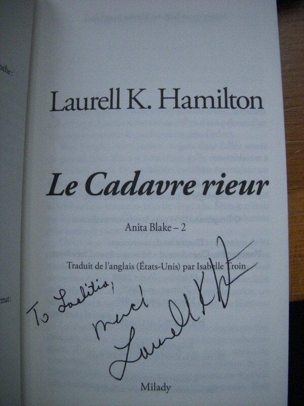 Laurell K Hamilton