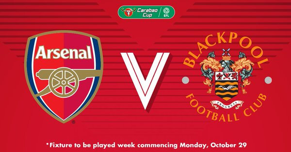 Arsenal face à Blackpool en League Cup !