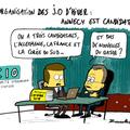 Annecy, jo hiver 2018, candidature et qatar scie...