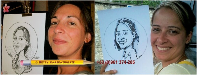caricature maitresse ecole betty caricaturiste