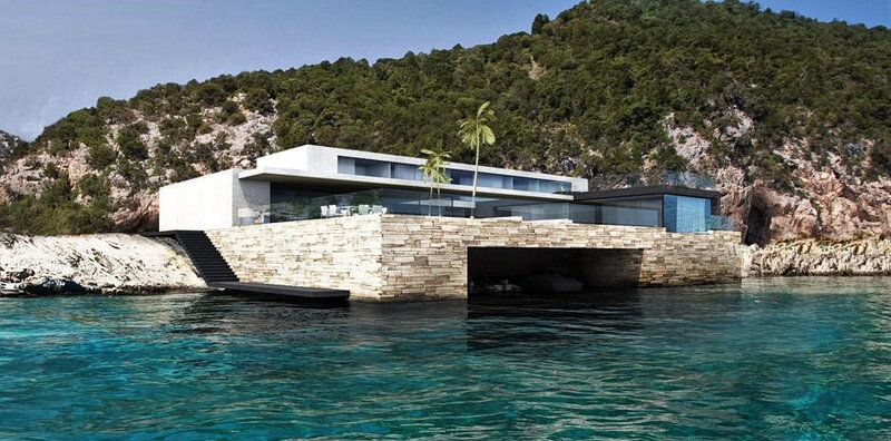 maison contemporaine cannes californie architecte cannes