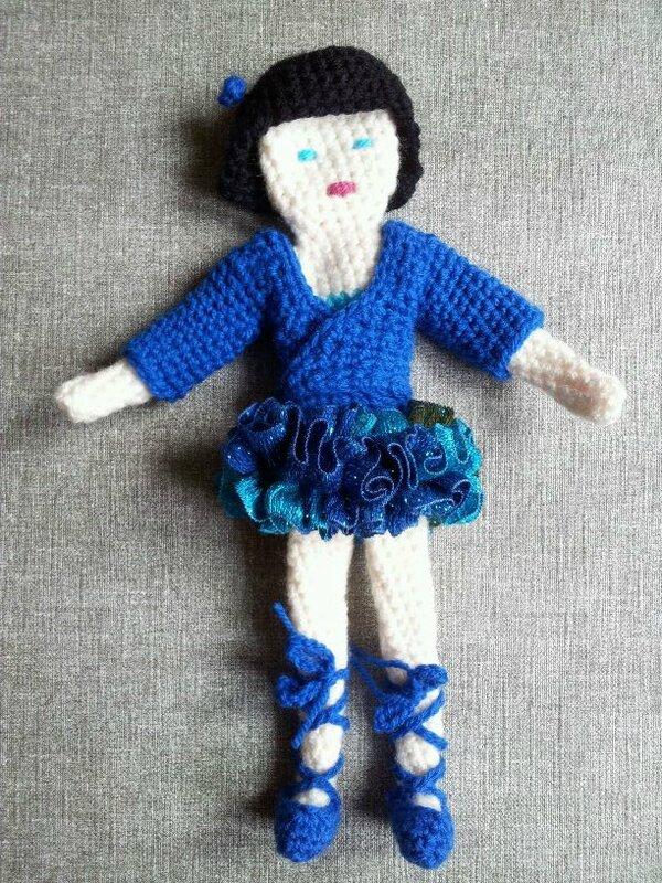 danseuse tutu bleu 4