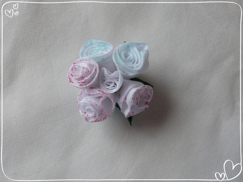 5 Roses en double