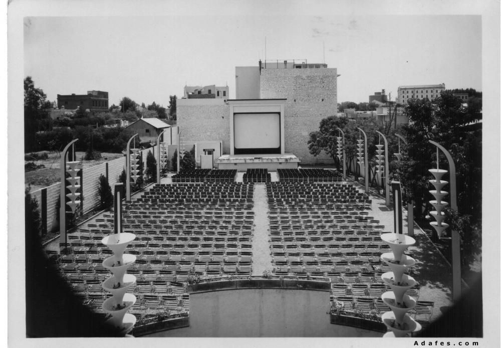 Cinema en plain air Le Jardin 1939 2