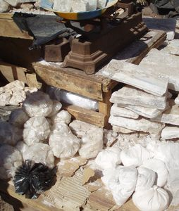 Sel en poudre, en morceaux, en plaquettes...MOPTI Mali